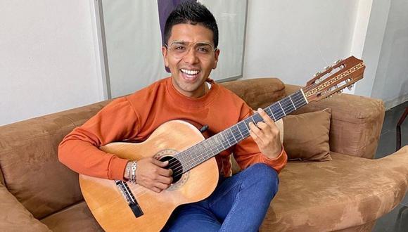 Christian Yaipén confesó que era la primera vez que cantaba en quechua. (Foto: Instagram @grupo5christian)