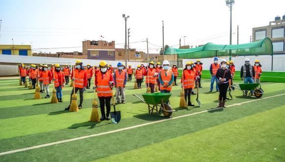 Se realizarán trabajos de limpieza en las avenidas Industrial y San Martín y la calle Juan Velasco Alvarado del Centro Poblado El Milagro.