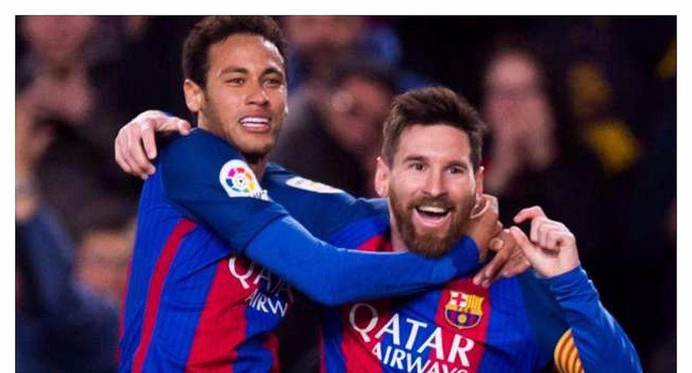 Neymar y su emotiva respuesta al mensaje de despedida de Leo Messi