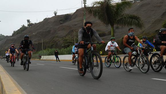 Los domingos, la evacuación de la vía se llevará a cabo media hora antes de la apertura de la Costa Verde y sus accesos. (Foto: Alessandro Curraino/GEC)