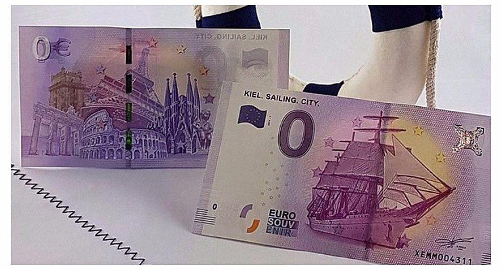 El sorprendente motivo por el que Alemania puso en circulación el billete de 0 euros