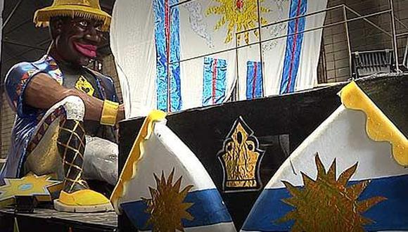 Carros alegóricos construidos por presos desfilarán en Carnaval uruguayo