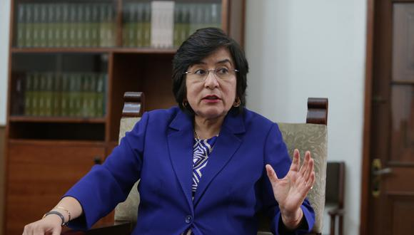 """Marianella Ledesma: """"TC rechazó medida cautelar porque vacancia se ha diluido"""" (Foto: Archivo El Comercio)"""