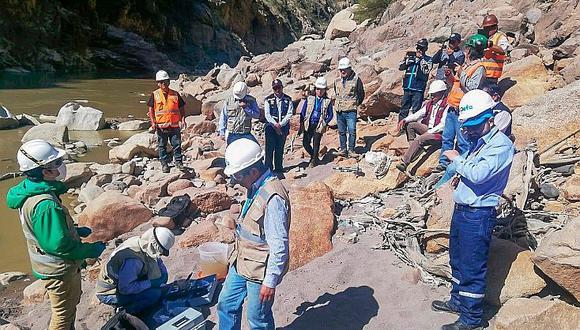 OEFA ordena a Doe Run recoger relave y desmonte del río Mantaro