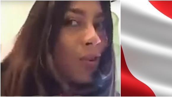 """Venezolana critica a peruanos: """"Son unos indígenas con peinados asiáticos"""" (VIDEO)"""