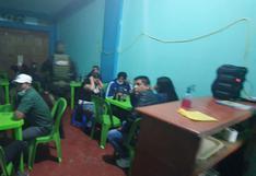 Intervienen 35 personas al interior de cantina clandestina en Gregorio Albarracín