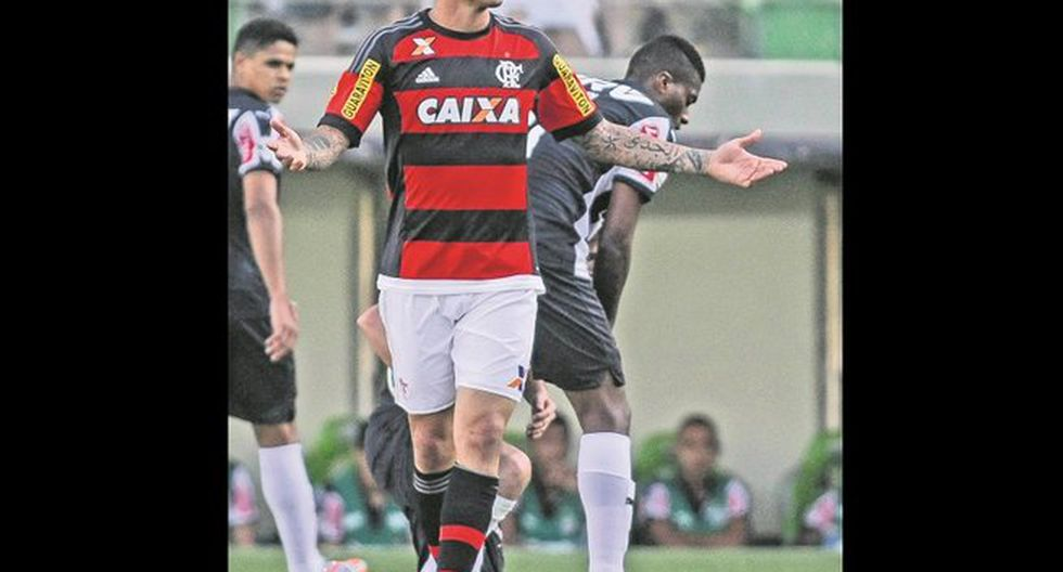 Paolo Guerrero falló último penal en derrota del Flamengo