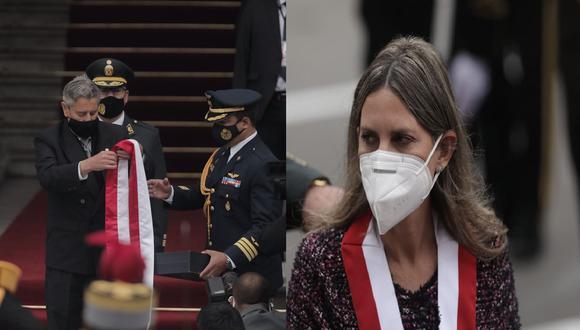 La presidenta del Congreso, María del Carmen Alva, considera que el caso de Valentín Paniagua fue distinto al de Francisco Sagasti.