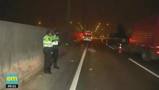 Hombre es atropellado al intentar cruzar la pista de la Panamericana Norte