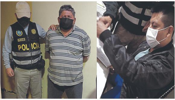 Hay doce detenidos. Dos son arrestados en Chiclayo.  Cobrarían por el pase de droga, celulares y hasta  bebidas a los penales.