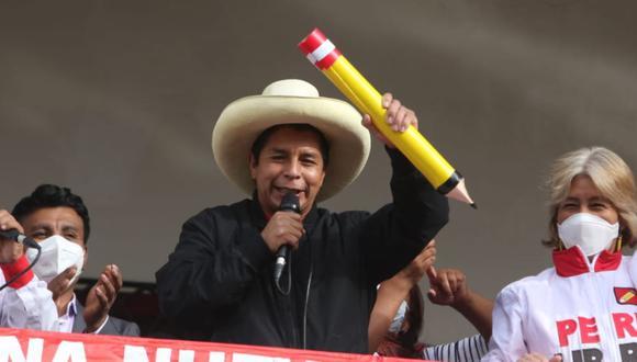 Candidato presidencial por Perú Libre consideró que estos actos deben rechazarse desde la educación inicial. (Foto: Eduardo Barreda / @photo.gec)