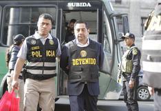 Caso Cuellos Blancos: PJ evaluará el 2 de noviembre apelación de José Cavassa