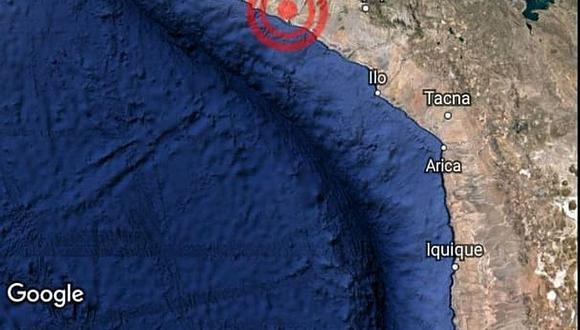 Dos temblores asustaron a la población arequipeña