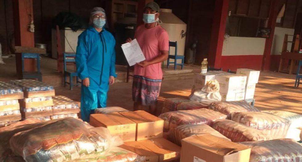 Pueblos indígenas de Madre de Dios se beneficiarán con 52.3 toneladas de alimentos