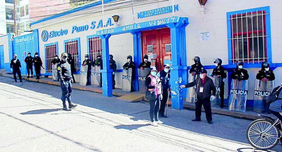 Sindicato de Trabajadores de Electro Puno se suma al pedido de la población