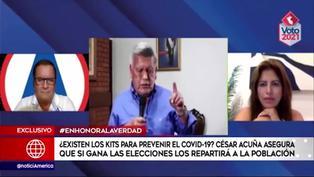 ¿Existen los Kits para prevenir el coronavirus que promete el candidato César Acuña?