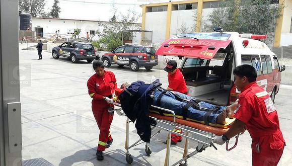 Sufre caída de 8 metros cuando hacía limpieza en cámara de seguridad