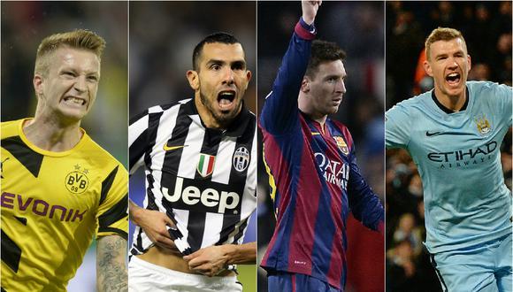 Champions League: Sigue en vivo el Manchester City - Barcelona y Juventus - Borussia
