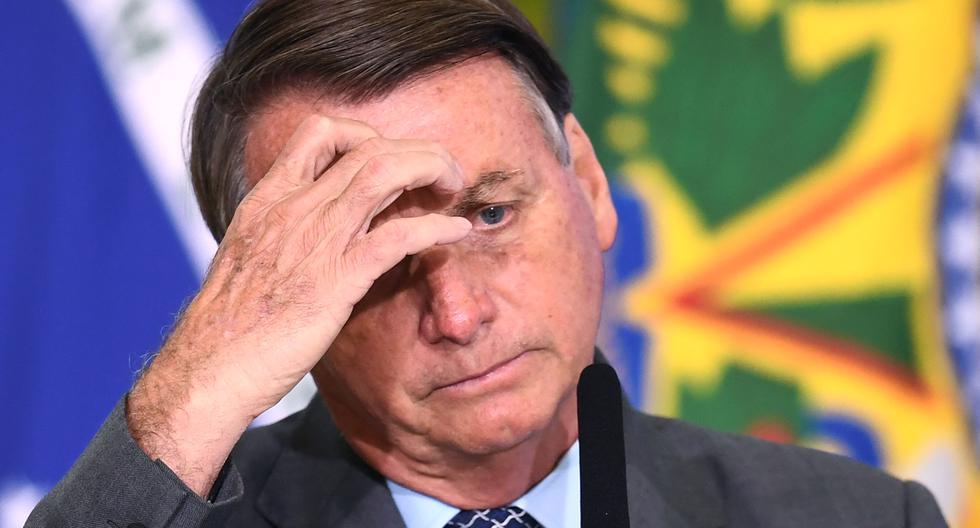 Fotografía del presidente de Brasil, Jair Bolsonaro. (EVARISTO SA / AFP).