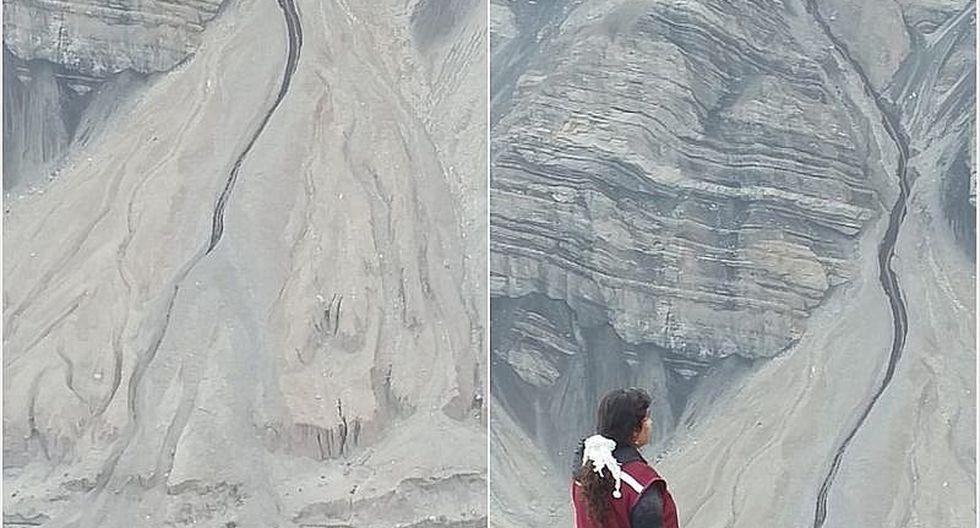 Derrumbe de material causa pánico en el valle de Majes en Castilla