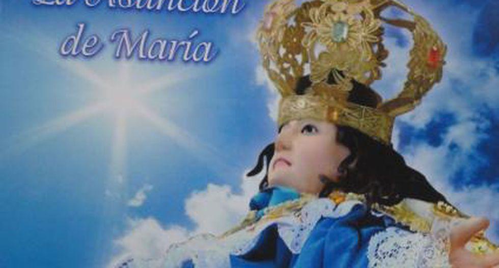 Festividades por Virgen de la Asunción inician hoy en Sóndor