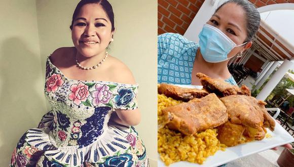 """""""Si vienen dificultades en la vida, hay que afrontarlas, si no te esfuerzas fracasas"""", escribió Sonia Morales en Instagram. (@soniamoralesperu)"""