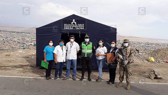 Instalan puesto epidemiológicos en ingresos a Tacna