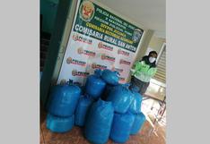 Azángaro: Incautan 15 bolsas de hoja de coca en San Antón