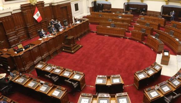 El Pleno del Congreso admitió la moción de vacancia contra el presidente Martín Vizcarra, (Foto: Congreso de la República)