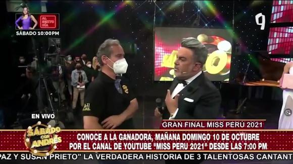Andrés Hurtado rejects live producer mockery |  Because today is Saturday with Andrés Video Farándula nndc |  SHOWS