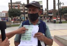 Usuario acusa facturación exorbitante por el servicio de agua potable en Chincha