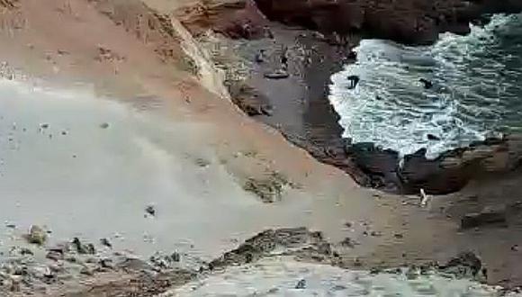 Jorge Godoy Márquez falleció ahogado luego de ser arrastrado por las aguas del mar en la playa 'La Miel' ubicada en el distrito de Quilca, en la provincia de Camaná.