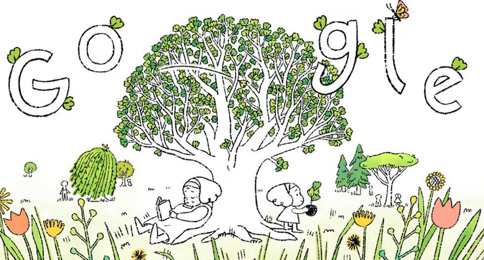 El Día de la Tierra es celebrado con un video doodle. (Foto: Google)