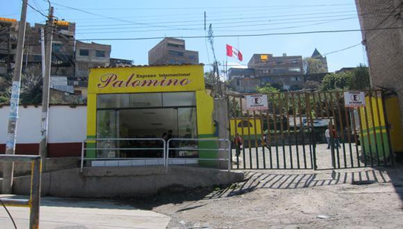 Encapuchados asaltan agencia de transportes en Andahuaylas