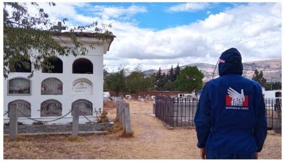 Cajamarca: Defensoría señala que cementerios no tienen autorización sanitaria (Foto: Defensoría del Pueblo).