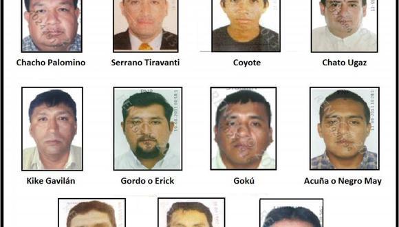 """Prófugos de """"La Gran Familia"""" se esconden en Chiclayo"""