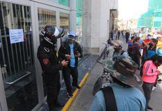 Cierran agencia del Banco de la Nación en Arequipa