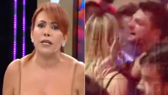 """Magaly Medina a Nicola Porcella: """"Si Angie lleva los pantalones en esa relación yo prefiero usar minifalda"""""""