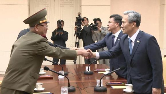 Acuerdo entre ambas Coreas para reducir las tensiones, según Seúl