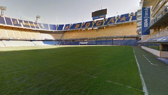 Boca Juniors creo un filtro de Instagram por el aniversario de La Bombonera (Foto: Google Street View)