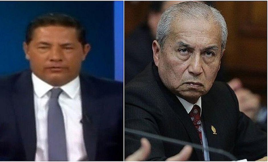 """Periodista de CNN le dice a Chávarry que mensaje de """"puedo remover"""" a fiscal Pérez puede ser obstrucción a la Justicia"""