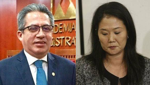 Juez Aldo Figueroa se inhibe de ver la casación de Keiko Fujimori