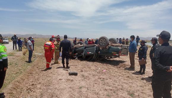 Accidentes en diversos puntos de la región Puno.