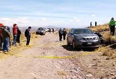 Balean a dos personas y abandonan sus cadáveres dentro de vehículo en Cusco (VIDEO)
