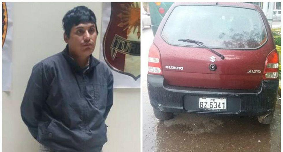 En Cusco detienen a sujeto que robó a turista argentino