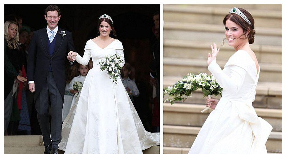 Diseñador de origen peruano elaboró vestido de novia de la princesa Eugenia