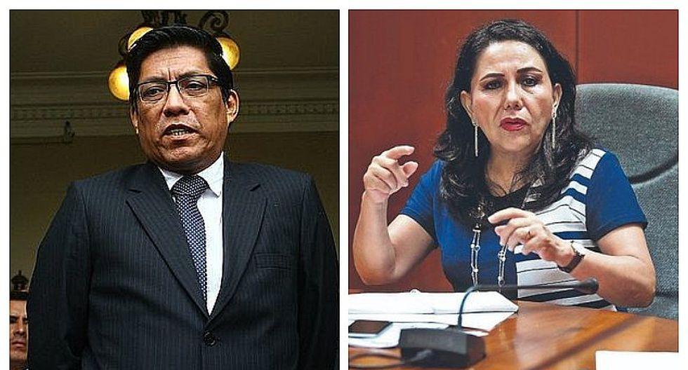 Vicente Zeballos y Gloria Montenegro pidieron al JEE archivar proceso de investigación