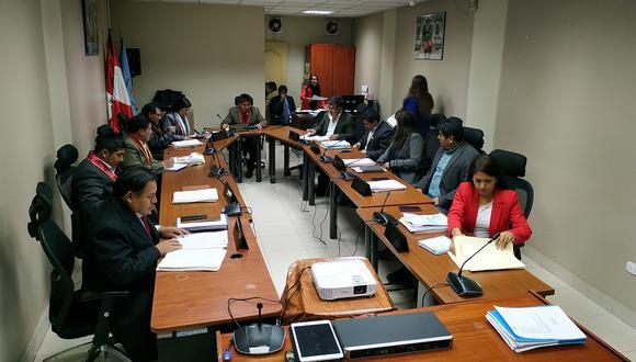 Consejo Regional de Huancavelica.