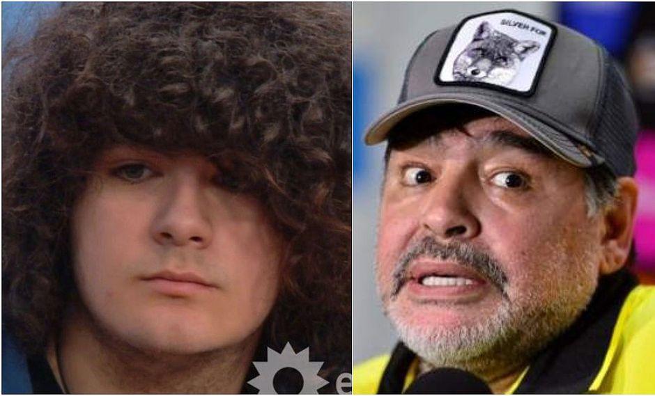 Supuesto décimo hijo de Maradona rompe su silencio en televisión argentina