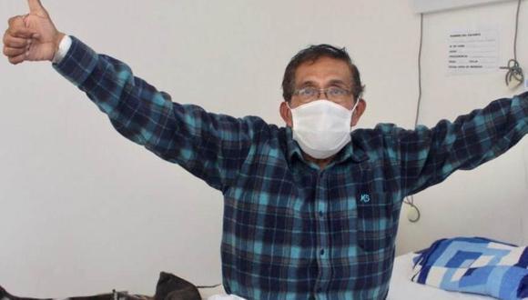 Médico de 72 años vence al coronavirus tras permanecer internado en cuidados intermedios. (Foto: Difusión)